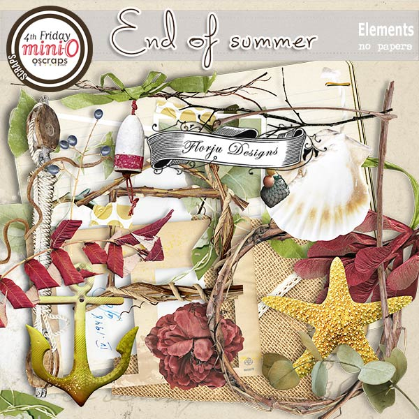 End Of Summer [ Elements PU ] by Florju Designs