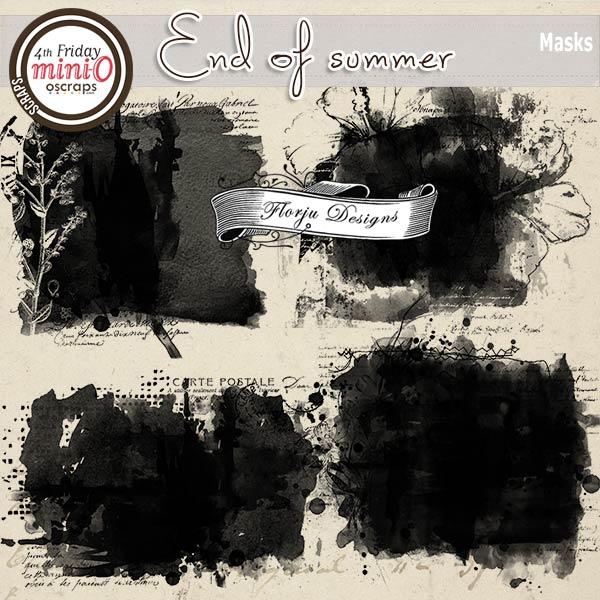 End Of Summer [ Masks PU ] by Florju Designs