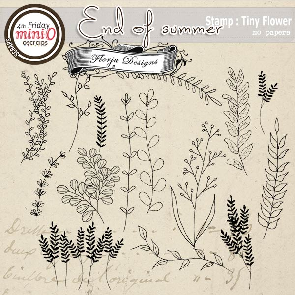End Of Summer [ Stamps PU ] by Florju Designs