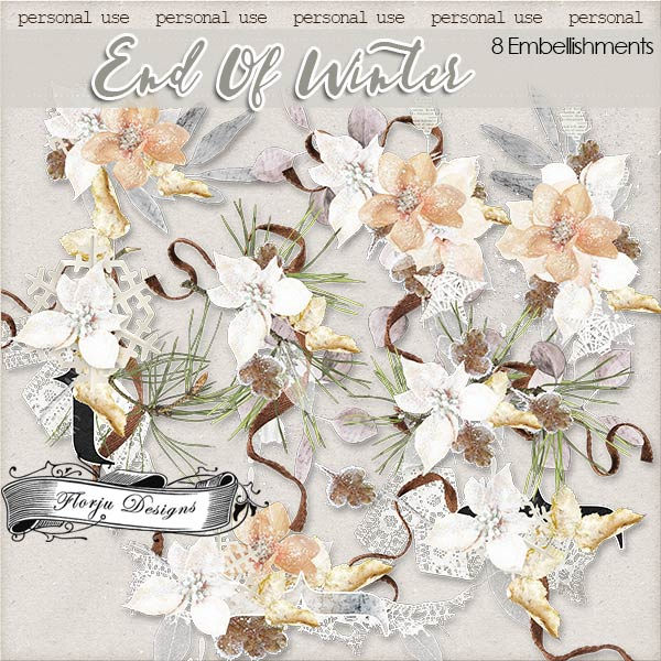 End of Winter [ Embellishments PU ] by Florju Designs