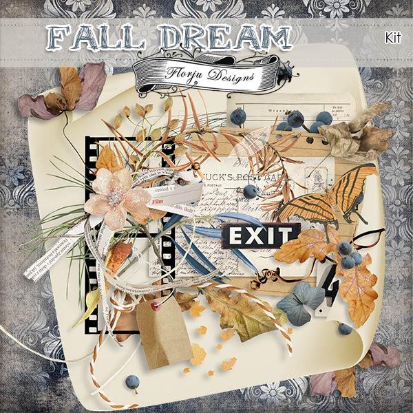 Fall Dream [ Kit PU ] by Florju Designs