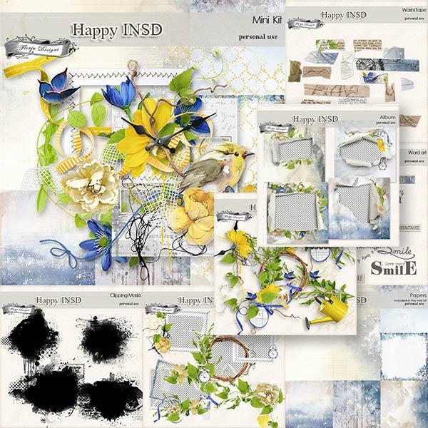 Happy INSD Bundle PU  by Florju Designs