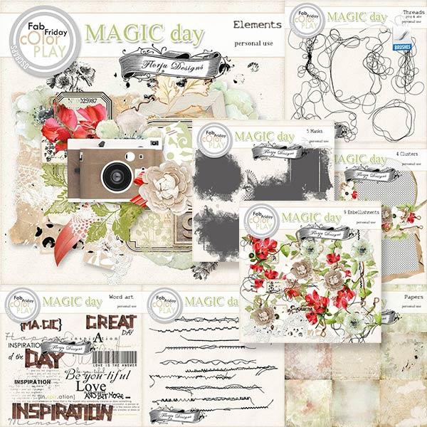 Magic Day Bundle PU  by Florju Designs