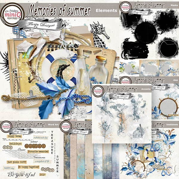Memories Of Summer [ Bundle PU ] by Florju Designs