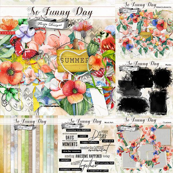 So funny Day { Bundle PU } by Florju designs