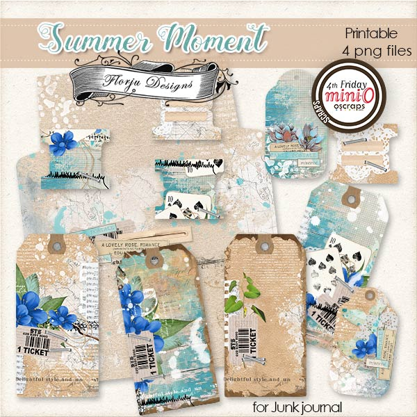 Summer Moment [ Printable PU ] by Florju Designs