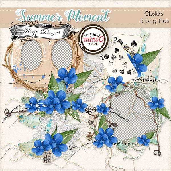 Summer Moment [ Clusters PU ] by Florju Designs