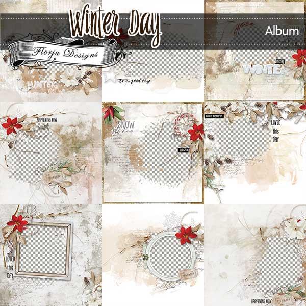 Winter Day [ Album PU ] by Florju Designs