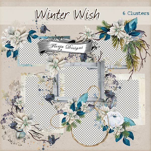 Winter Wish { Clusters PU } by Florju Designs