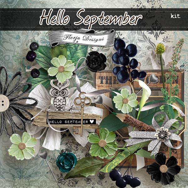 Hello September { Kit PU } by Florju Designs