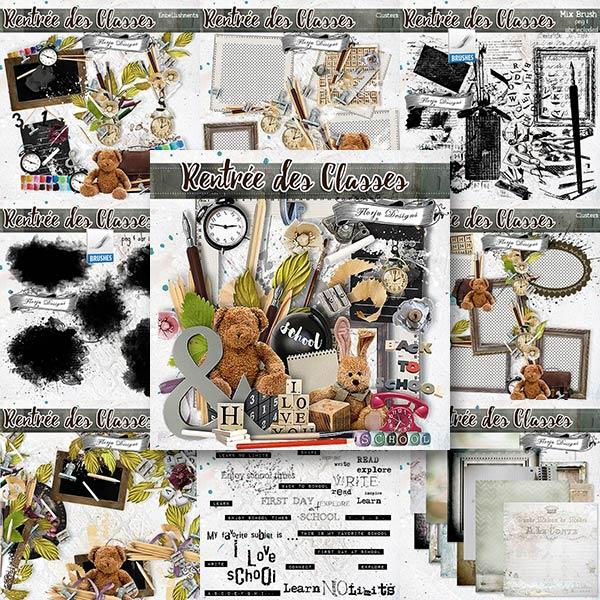 Rentrée des Classes  { BundlePU } by Florju Designs