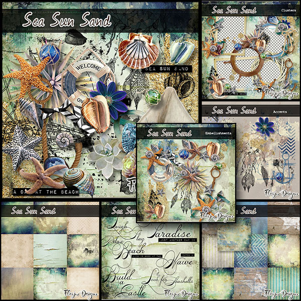 Sea Sun Sand Collection