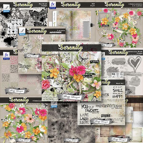 Serenity { Bundle PU } by Florju Designs