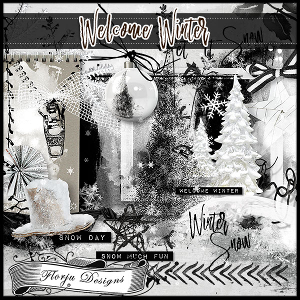 Welcome Winter { Kit } by Florju Designs
