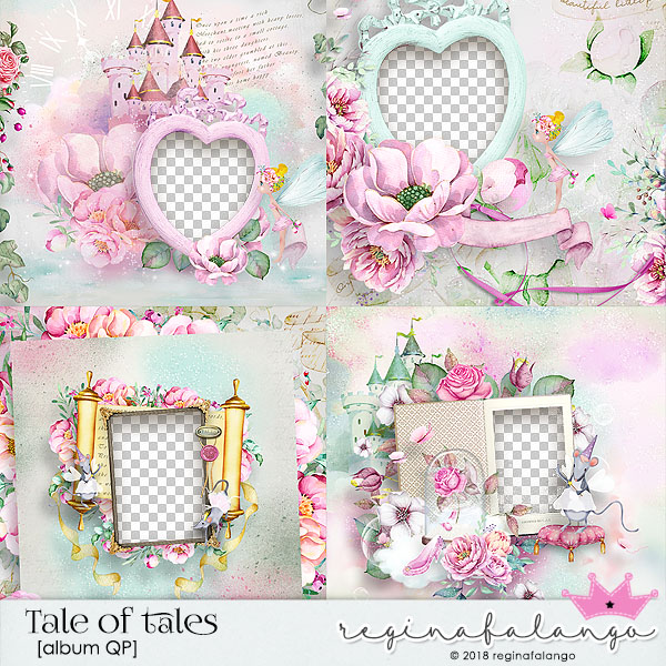 TALE OF TALES ALBUM QUICK PAGES