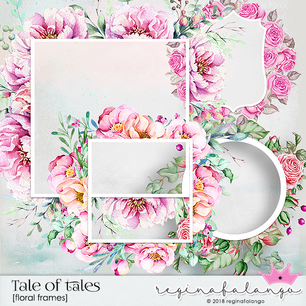 TALE OF TALES FLORAL FRAMES