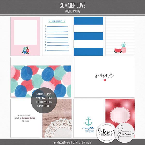Summer Love | Pocket Cards