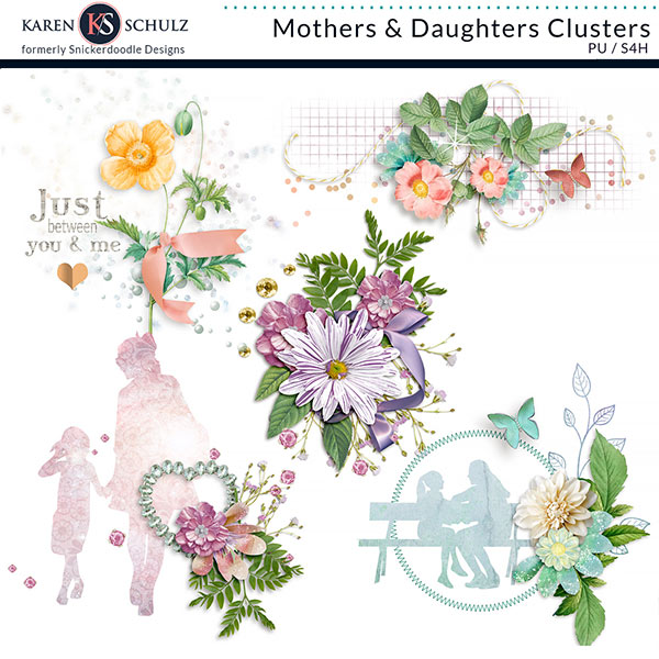 Mothers and Daughters Clusters