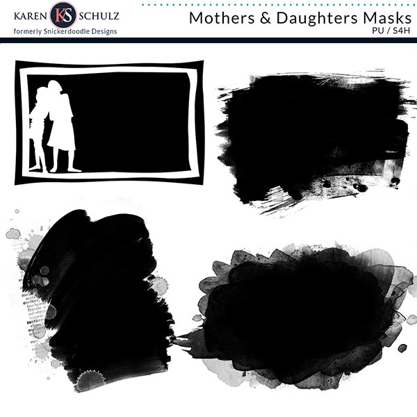 Mothers and Daughters Masks