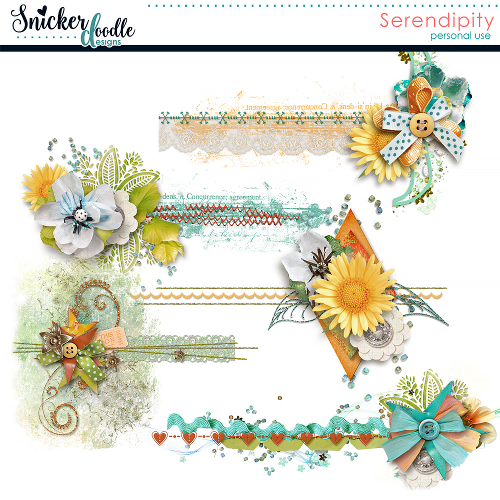 Serendipity Stitched Clusters
