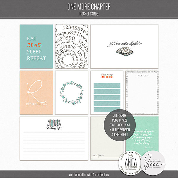 One More Chapter | Pocket Cards