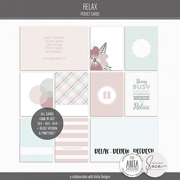 Relax | Pocket Cards