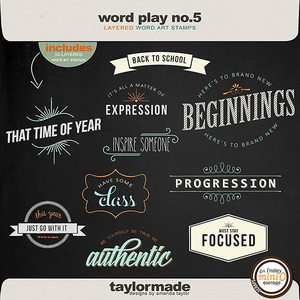 Word Play No. 5