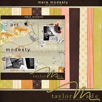 Mere Modesty