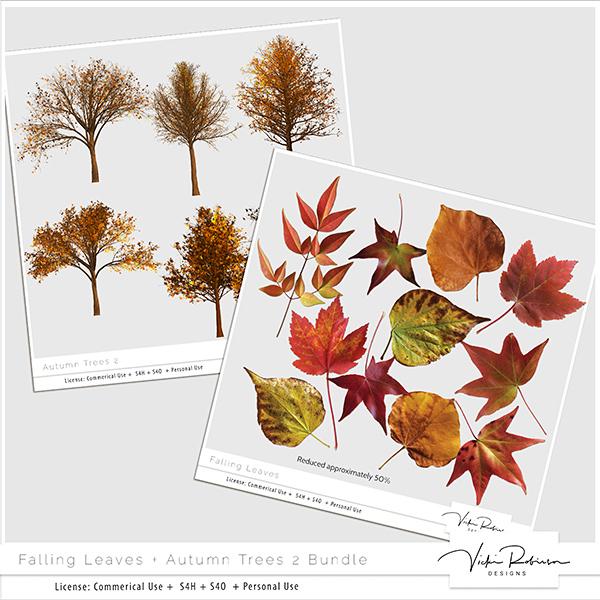 Designer's Toolbox: Fall Leaves + Trees