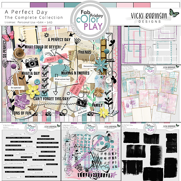 A Perfect Day Collection by Vicki Robinson