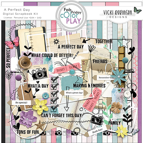 A Perfect Day Kit by Vicki Robinson