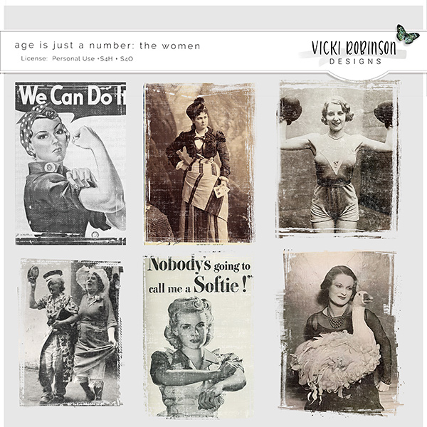 Age is Just A Number Women by Vicki Robinson