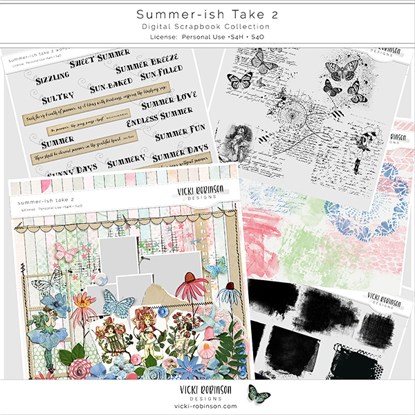 Summer-ish Take 2 Collection by Vicki Robinson