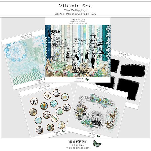 Vitamin Sea Collection by Vicki Robinson