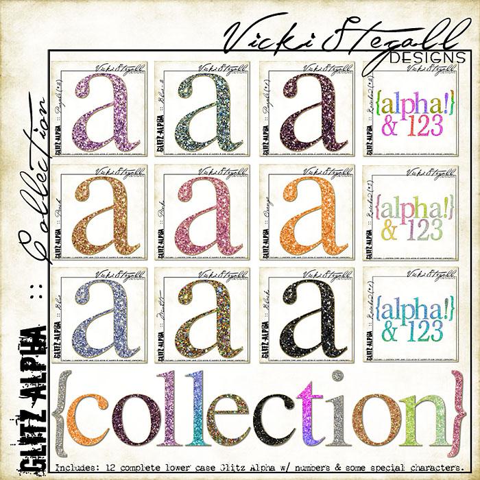 Glitz Alpha {Collection}