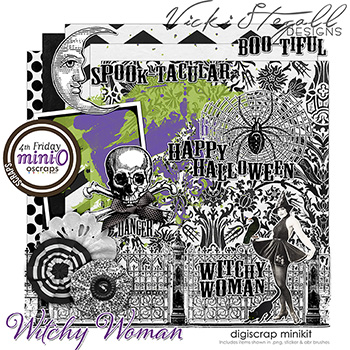 Witchy Woman - mini kit