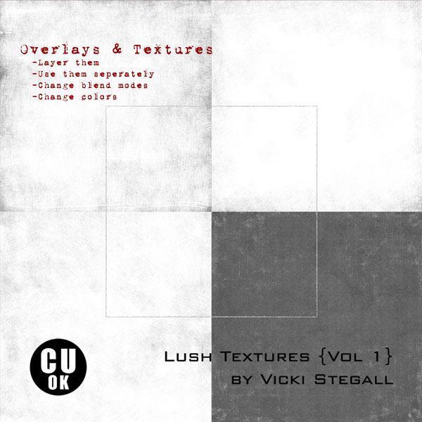 Lush Textures {Vol. 1}