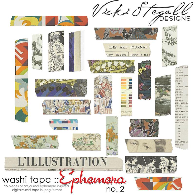 Washi Tape {Ephemera} no 2