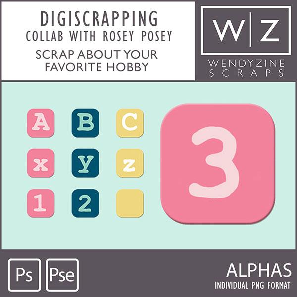 Digiscrapping {Alpha}