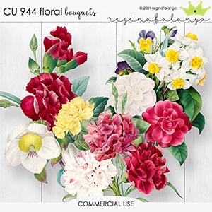 CU 944 FLORAL bouquets