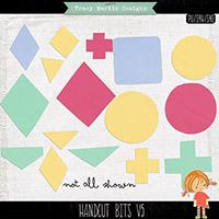 Handcut Bits #5