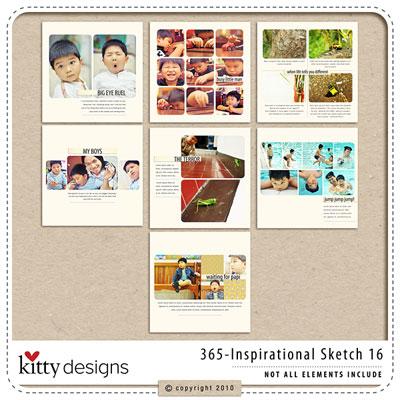 365 Inspirational Sketches Ver16