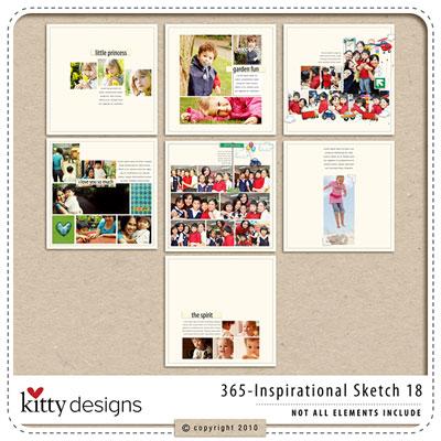 365 Inspirational Sketches Ver.18