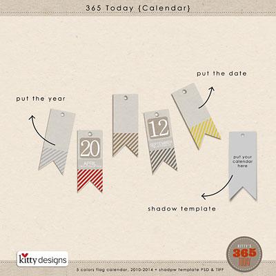 365 Today {Calendar}