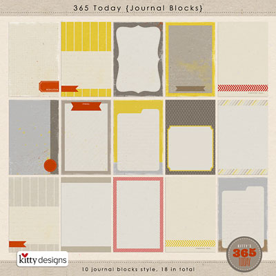 365 Today {Journal Blocks}