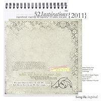 52 Inspirations :: 2011 {Week 25}