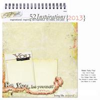 52 Inspirations 2013 - Week 44