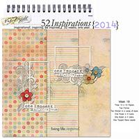 52 Inspirations 2014 - week 18