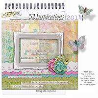 52 Inspirations 2014 - week 20