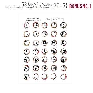 52 Inspirations :: 2015 {Christmas) Bonus
